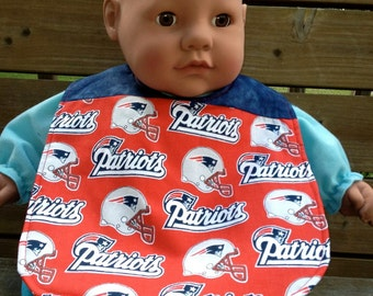 New England Patriots' bib