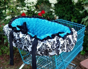 Shopping Cart Cover w/top ruffle