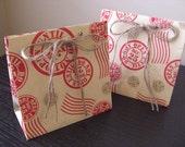 Christmas Mini Gift Bag - Do not open till Dec 25 - (set of 10)
