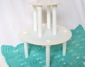 Two Tier Cake Stand Posts Pillars Baking Supplies Dessert Decorating Kitchen Equipment Destash
