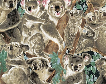 Koalas and Their Young: Backpack/tote