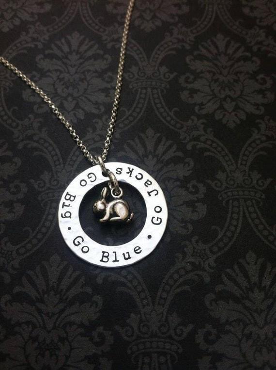 GO SDSU  Jackrabbit Necklace