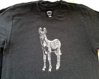 Zonkey / Zeedonk  / Heather Black / Men's T-shirt