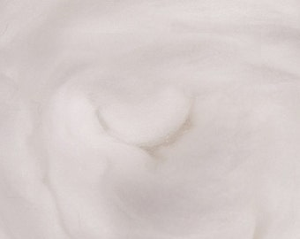 Snow Mountain - Faux Cashmere/Angora - 100% Nylon - 4 oz - WHITE