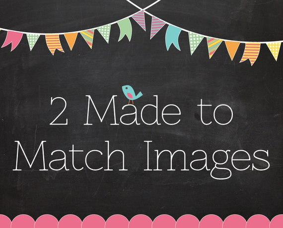 2 Made-To-Match Images for any Premade Design from Simply Creative Designs