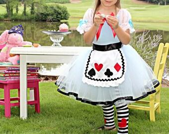 Alice in Wonderland costume 3t
