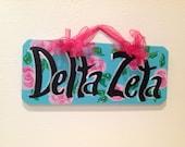 Delta Zeta sorority sign big little
