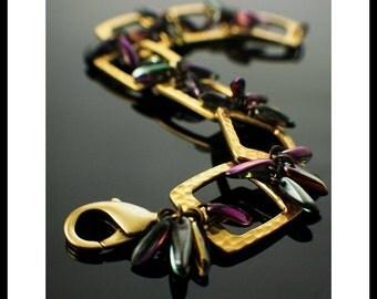 Kaleidoscope Bracelet Tutorial - Fast and Easy Fashion Jewelry - PDF