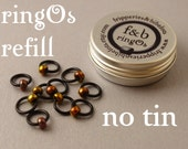 ringOs REFILL - Embers - Snag-Free Ring Stitch Markers for Knitting