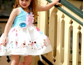 Children on Parade Party Dress  Twirly Boutique Ruffles