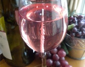 8 OZ. White Zinfandel Wine  Gel Candle****