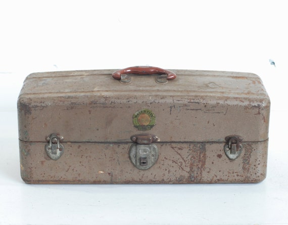 Antique Tool Box by Watertite Union