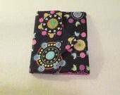 Handmade - Multi Colored - Fun Print - Birds, Hearts and Roses -  Kindle Cover -  Padded eReader - Kindle - Kindle Fire  - case