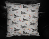 Steelers  -    Throw Pillow COVER ONLY