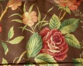 1 yard----RJR Fabric----Quilt Backs----Brown Green Pink