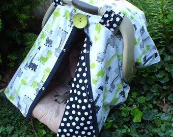 Carseat canopy Giraffe  / Car seat cover / car seat canopy / carseat cover / carseat canopy / nursing cover