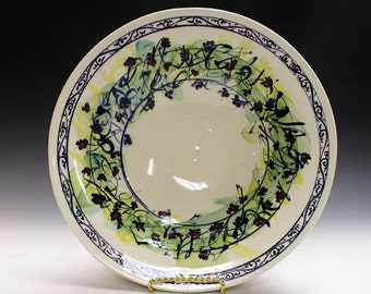 Ceramics and pottery bowl, gift idea weddings, holiday, special ocasions