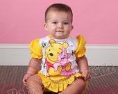P-0-0-H Bloomer set hand painted infant baby size 3mth, 6mth, 12mth, 18mth, 24mth ETSYKIDS Boutique custom