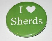 Archaeology Badge - Green - I Love Sherds