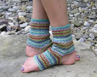 Summer Moss Yoga/Dance Socks