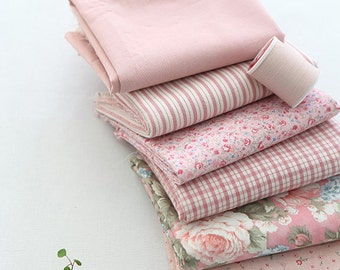 yardages of only one pattern in Sweet PINK Cotton, U7153