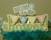 "Custom ""Mom to Be"" Baby Shower Tiara"