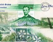 Lincoln Landscape Postcard