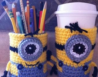 Minion Cup Cozy