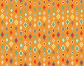 Crazy Diamond in Orange from Boy Crazy by Riley Blake Fabrics by the Half Yard