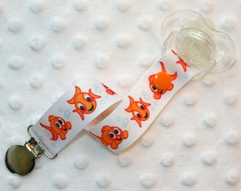 Goldfish Pacifier / Soothie Clip