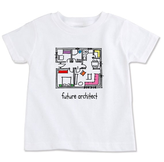 Future architect designer toddler t shirt for Architecture t shirts