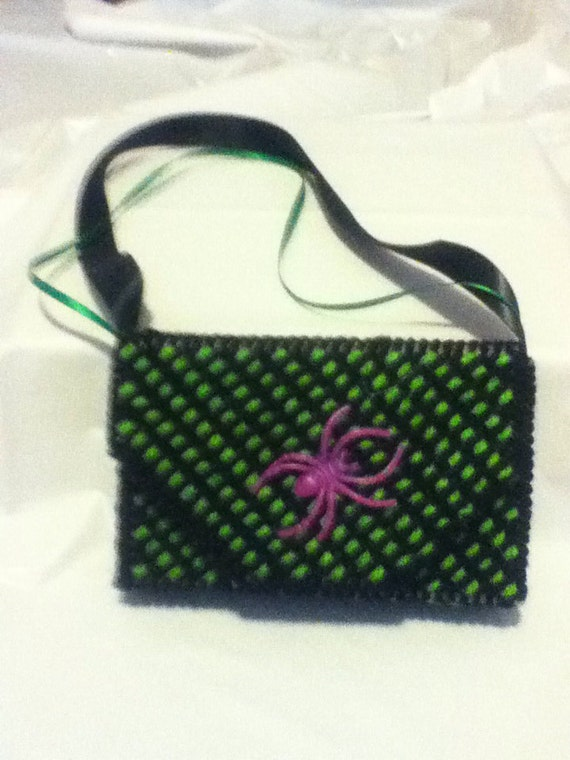 Black and green  phone case