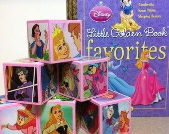 Disney Princess Building Blocks SET OF 6