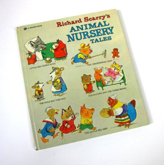 Richard Scarry's Animal Nursery Tales 1975 / Oversized