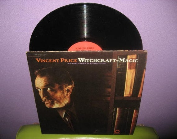 Rare Vinyl Record Vincent Price Witchcraft Amp Magic Double Lp
