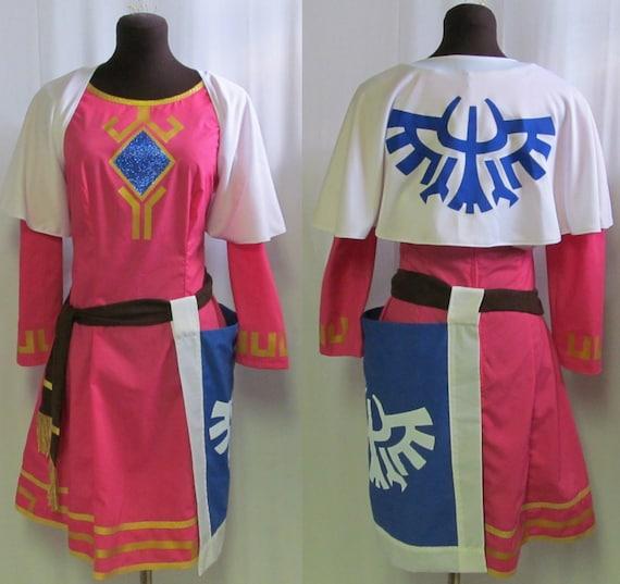 Legend Of Zelda Skyward Sword Princess Zelda Cosplay By