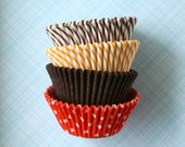 Fall Mix Cupcake Liners, Thanksgiving Cupcake Liners (60 count)