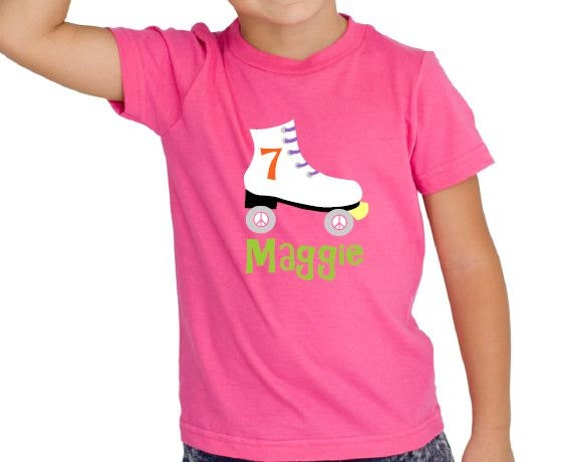 Roller Skate Birthday Shirt