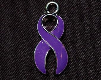 Purple Awareness Charm - SALE