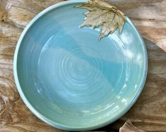 Large Serving Platter, Large Platter, Serving Platter, Maple Leaf, Made to Order