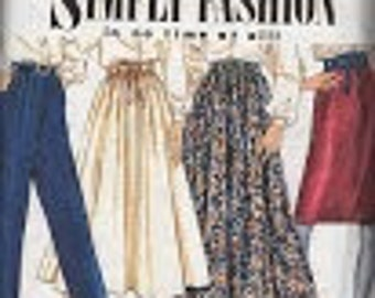 Full Skirt Simplicity Sewing Pattern 7021