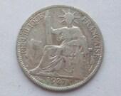 Vietnam Silver 20-Cent Coin