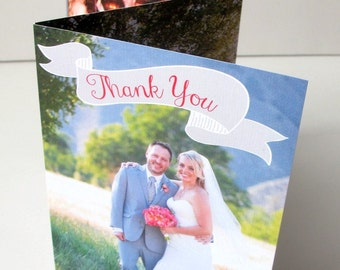 Photo Wedding Thank You Cards (139)