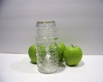 Vintage 1984 Glass Planters Peanuts Lidded Jars Candy Jar