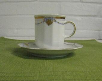 Tirschenreuth Demitasse Cup and Saucer