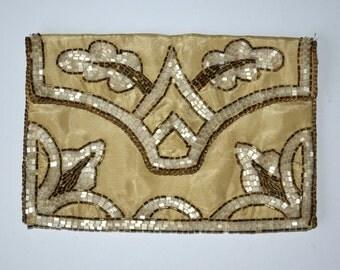 1920s Art Deco  beaded clutch purse
