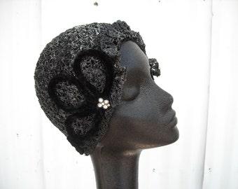 Gatsby Style Cloche Hat for Women