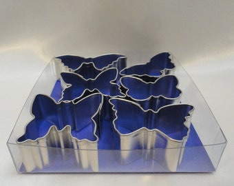 Mini Butterfly Cookie Cutter Set (6pc) -Recipes and Summer Fun.