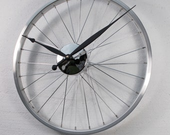 Bicycle Wheel Clock - perfect fathers day gift
