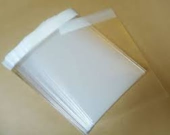 100 10 x 13 Inches, Resealable Cello Bags, Crystal Clear Photo Packaging